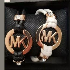 1 Hr Best Offer! Michael Kors Leather Bracelet